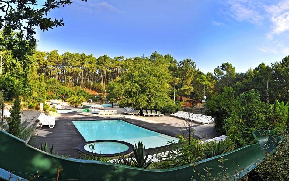 Yelloh village panorama du pyla for Camping piscine toboggan